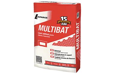 Multibat® - 15 ani si peste 350 de milioane de metri patrati de pereti tencuiti cu