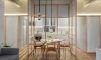 Partiții din sticlă remodelează acest apartament din Bilbao In cadrul procesului de reamenajare arhitectii spanioli au