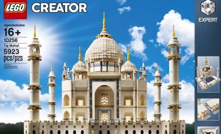 LEGO relansează setul de construcție Taj Mahal, cu aproape 6000 de piese!
