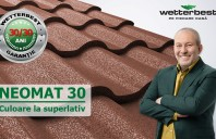 O nouă protecție pentru acoperișuri, cu garanție de 30 de ani la coroziune și la culoare