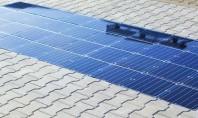 Panouri solare pe trotuar care pot încărca mașinile electrice Trotuarele viitorului ar putea fi pavate cu