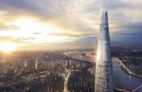 Cel mai impresionant zgârie-nori nou are cel mai rapid lift din lume Cu cei 555 de metri ai sai, este a cincea cladire din lume dupa inaltime si cea mai inalta din Coreea de Sud. Designul sau este inspirat de arta traditionala