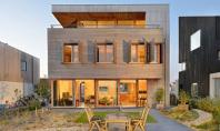 Un design inteligent poate produce o casa eficienta energetic Pe insula Rieteiland-Oost din Amsterdam a fost