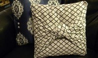 Fete pentru pernutele decorative fara cusaturi Oare cat de simplu este sa realizati fete pentru pernutele
