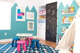 O camera de copil conceputa pentru joaca