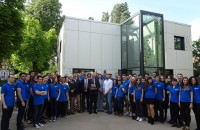 Ambasadorul S U A in Romania Hans Klemm a vizitat EFdeN 4C - Centrul de Cercetare