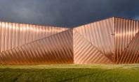 """Proiectul """"Museum of Fire"""" prezentat la RIFF Bucuresti de arhitectul Oskar Grabczewscy Arhitectul de origine poloneza"""
