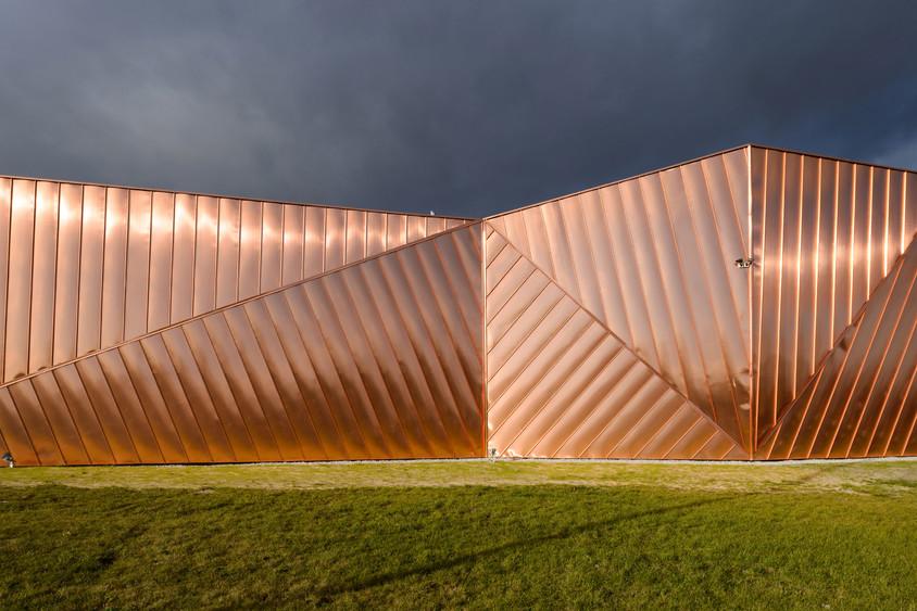 """Proiectul """"Museum of Fire"""", prezentat la RIFF Bucuresti de  arhitectul Oskar Grabczewscy"""