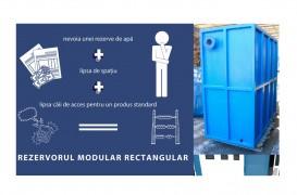 Pot fi modelat oricum, sunt răspunsul cel mai bun! - Rezervorul modular rectangular