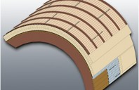 Plăci termoizolante din poliuretan (PIR) pentru acoperișuri curbate