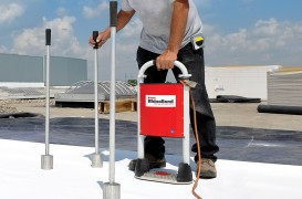 Hidroizolație acoperișuri EPDM - aplicare hidrosistem