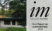 Raportul de sustenabilitate Knauf Insulation 2015 Noul raport de sustenabilitate demonstreaza cele mai recente inovatii Knauf
