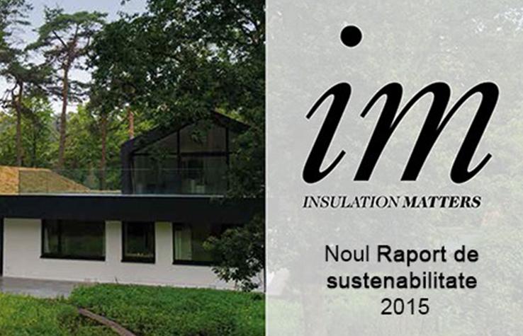 Raportul de sustenabilitate Knauf Insulation 2015