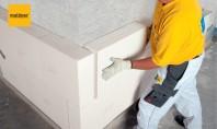 Termoizolarea la exterior pentru case nou construite In cazul caselor nou construite sistemul termoizolator imbunatateste performantele