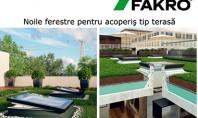 Ferestre Fakro pentru acoperis tip terasa Alege pentru acoperisul tau plat Ferestrele tip C FAKRO cu