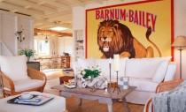 "Design interior inspirat de tema ""circului"""