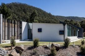 O casă gândită să reziste unor condiții climatice aspre