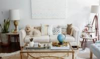 Înfrumusețează-ți camerele cu pernuțe decorative perfect aranjate! O pernuta decorativa sau doua (sau cinci!) reprezinta un