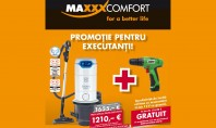 Promotie pentru executanti Descoperiti promotia MAXXXCOMFORT pentru executanti.