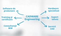 Soluțiile specializate pentru proiectare asistată acum disponibile și online Compania CADWARE Engineering anunță relansarea site-ului său