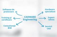 Soluțiile specializate pentru proiectare asistată, acum disponibile și online Compania CADWARE Engineering anunță relansarea site-ului său, www.cadware.ro.