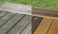 Reconditionarea si intretinerea pardoselilor de exterior din lemn Tratarea pardoselilor exterioare din lemn confera protectie de