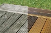 Reconditionarea si intretinerea pardoselilor de exterior, din lemn
