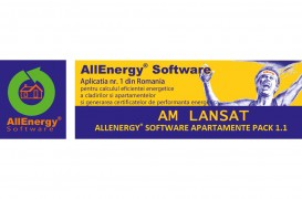 Am lansat AllEnergy® Software Apartamente PACK 1.1!