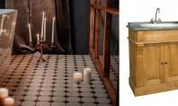 Mobilier de baie din lemn avantaje și riscuri Baia a devenit in multe amenajari o noua