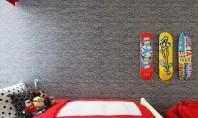 De ce este tapetul o alegere potrivită în camera copilului! De multe ori asociem tapetul doar