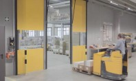 Ușa Butzbach cea mai rapidă ușă industrială din lume Usa rapida Butzbach accesorizata cu radare speciale