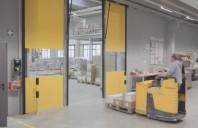 Ușa Butzbach, cea mai rapidă ușă industrială din lume