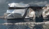 """Un arhitect rus vrea să reconstruiască faimoasa Fereastră de Azur O autentica """"fereastra"""" a naturii prin"""