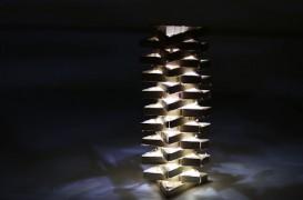 Lampa din lemn. Simplu și ușor de realizat