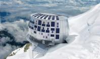 Refuge du Gouter cabana construita la cea mai mare altitudine din Alpii francezi Alpinistii curajosi care