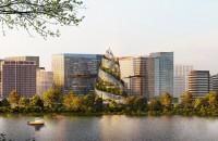 """O """"pădure verticală"""" pentru angajaţi, piesa centrală a viitorului sediu Amazon"""