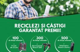 Reciclezi și câștigi garantat premii