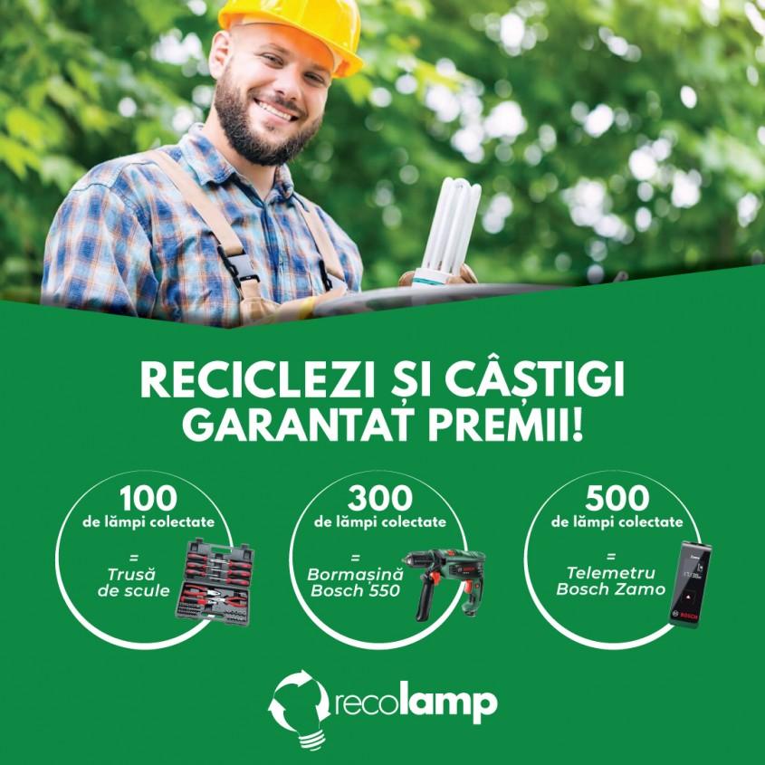 Recolamp - Reciclezi și câștigi garantat premii