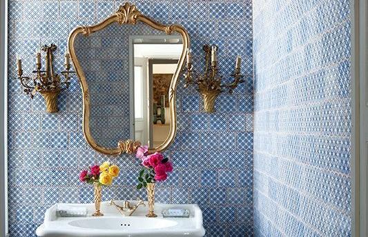 Idei deosebite pentru plăcile ceramice din baie
