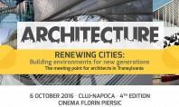 Provocarile in dezvoltarea oraselor - subiect dezbatut la Cluj-Napoca de peste 300 arhitecti Speakeri de renume
