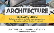 Provocarile in dezvoltarea oraselor - subiect dezbatut la Cluj-Napoca de peste 300 arhitecti