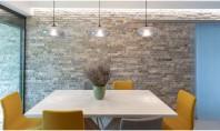 Piatra naturală în amenajările interioare 5 idei de amenajare cu piatră decorativă Frumusetea incontestabila durabilitatea si
