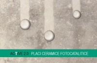 Plăci ceramice fotocatalitice pentru exterior şi interior