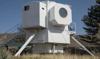 Un inginer naval și-a construit o căsuță ingenioasă inspirată de modulul lunar Apollo Experienta de peste