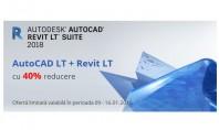 AutoCAD Revit LT Suite cu 40% reducere In perioada 09-16 Ianuarie 2018 puteti achizitiona abonamente noi