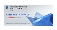AutoCAD Revit LT Suite cu 40% reducere