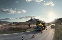 VOLVO EWR150E: Excavatorul pe roti cu cea mai scurta raza de pivotare!