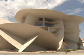 În interiorul spectaculosului muzeu construit de Jean Nouvel în Qatar (Video)