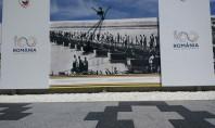 Bulevardul Unirii din Buzău a fost reamenajat cu produse Elis Pavaje Inaugurarea monumentului a avut loc