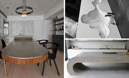 Cum sa obtii un design special cu ajutorul blaturilor din beton aparent